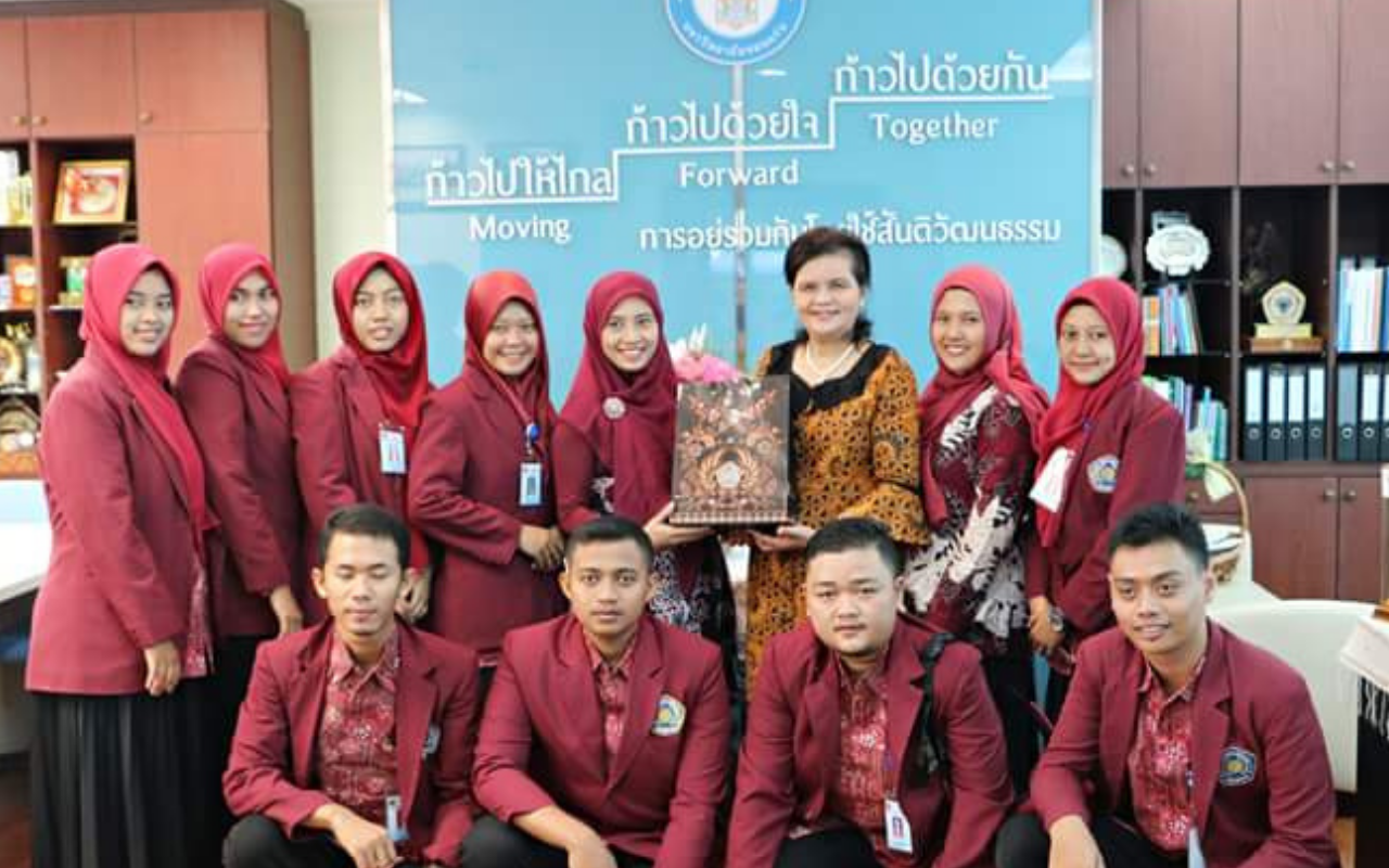 INTERNASIONAL STUDENT EXCHANGE PROGRAM  KHON KAEN UNIVERSITY THAILAND 2018